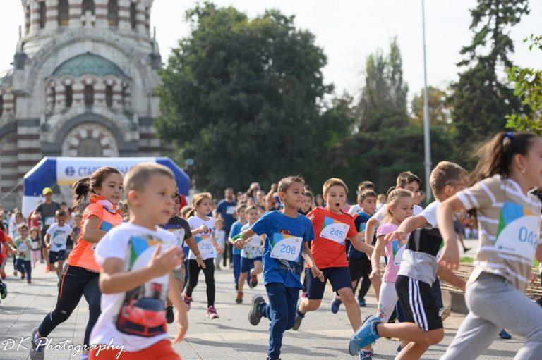 """Fun Run Kids част от 7-ми маратон на приятелството """"Плевен"""""""